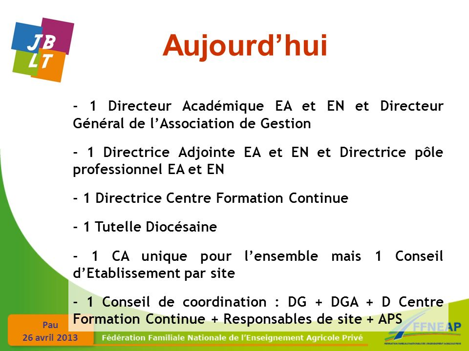 Pau 26 avril 2013 Relations Sociales - Conseil dEtablissement :.