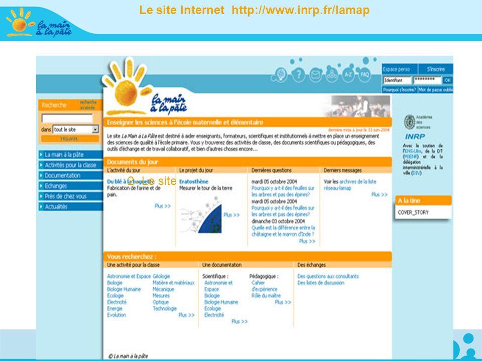 2- Le site Le site Internet http://www.inrp.fr/lamap