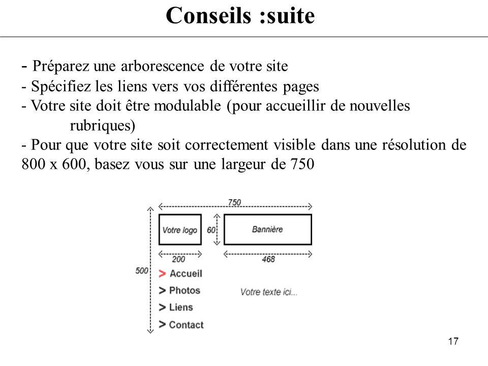 16 - Repérer les sites - enregistrer- modifier - Copier les images et les icônes intéressantes - Stocker les sites (l'adresse) dont laspect est intére