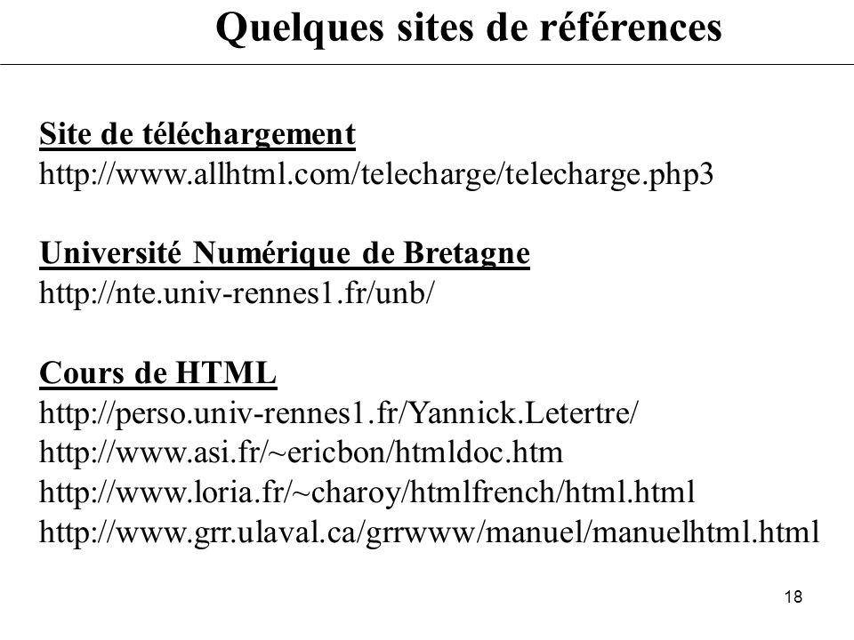 17 - Préparez une arborescence de votre site - Spécifiez les liens vers vos différentes pages - Votre site doit être modulable (pour accueillir de nou