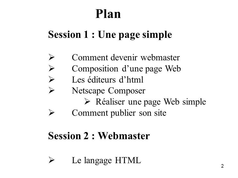 1 Création de pages Web Vincent DURO IUT du Havre Cours Site WEB 2ème année GEA vincent.duro421@univ-lehavre.fr