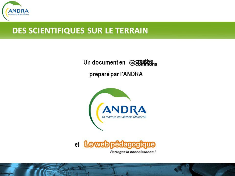 Un document en préparé par lANDRA et DES SCIENTIFIQUES SUR LE TERRAIN