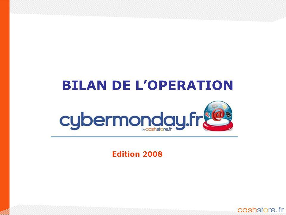 1 BILAN DE LOPERATION Edition 2008