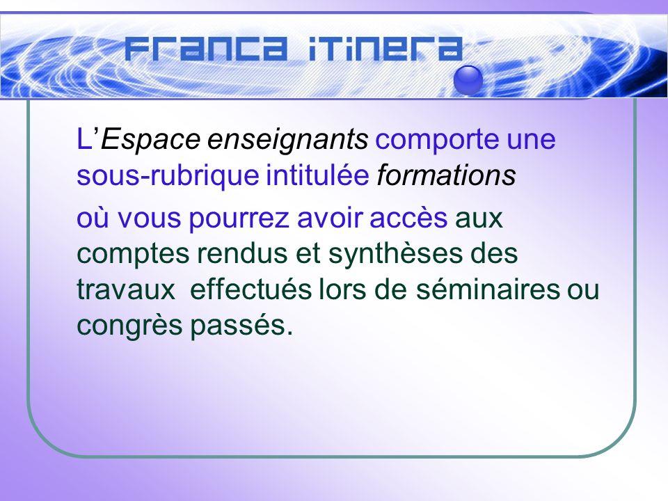 LEspace élèves : Envoyez du matériel pour les élèves des sections bilingues.