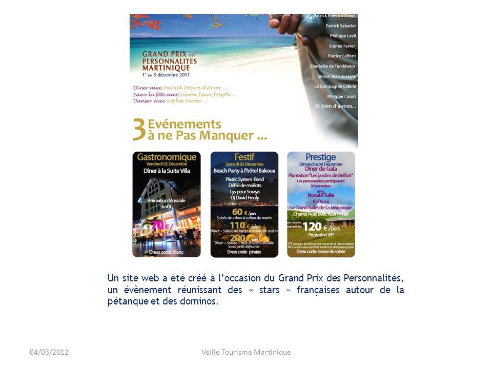 Contenu éditorial pauvre et mal géré.La page MartiniqueTourisme a été créée en mai 2011.