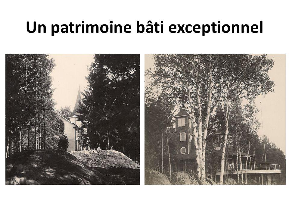 Un patrimoine bâti exceptionnel