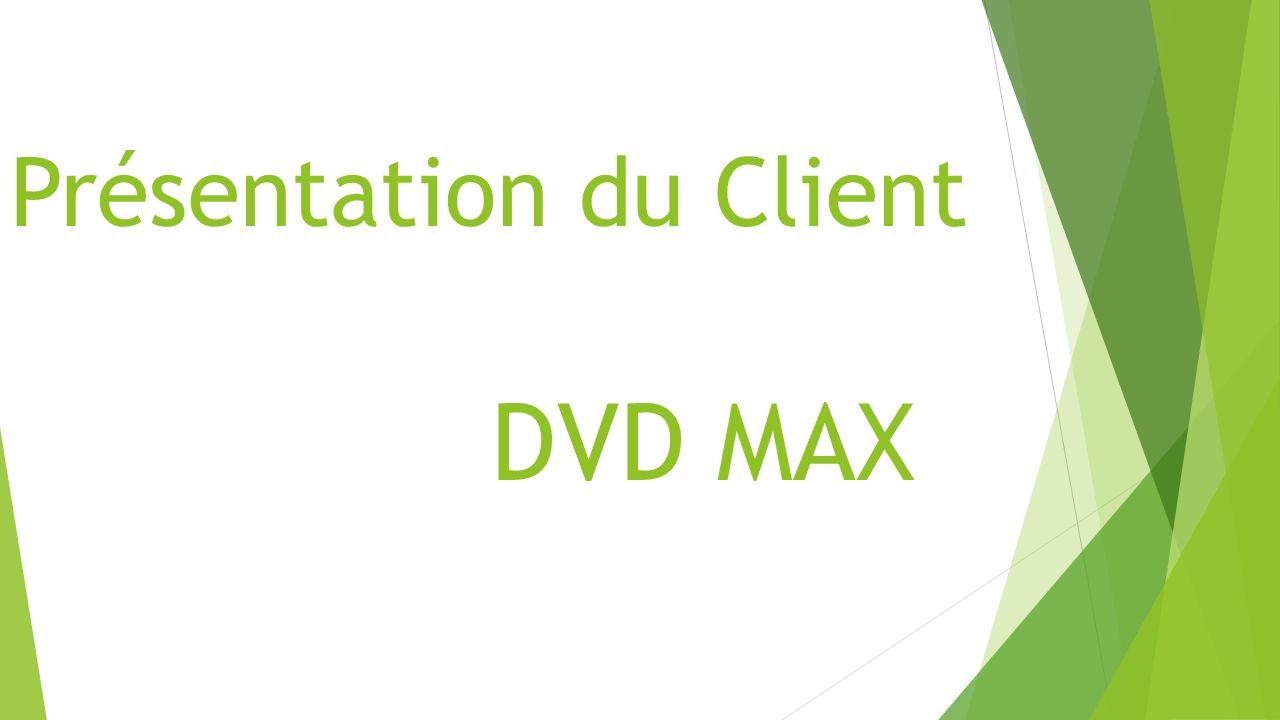 Présentation du Client DVD MAX