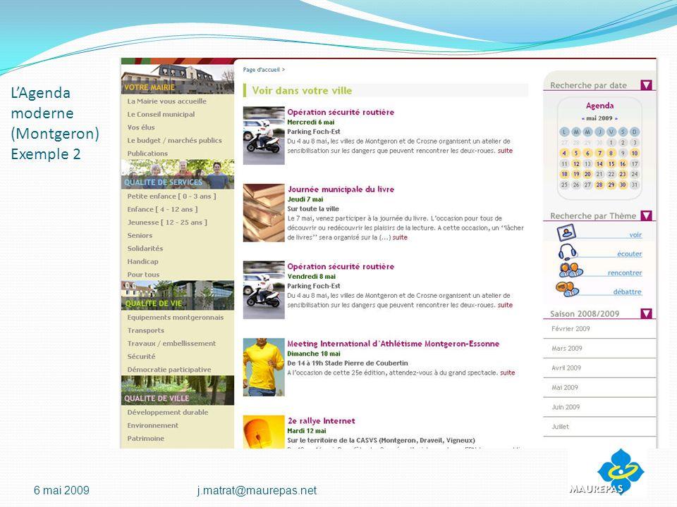 LAgenda moderne (Montgeron) Exemple 2 6 mai 2009j.matrat@maurepas.net