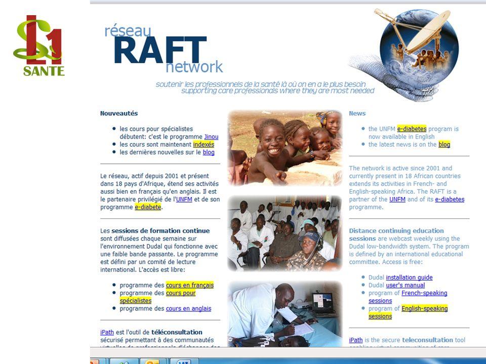 Réseau RAFT network