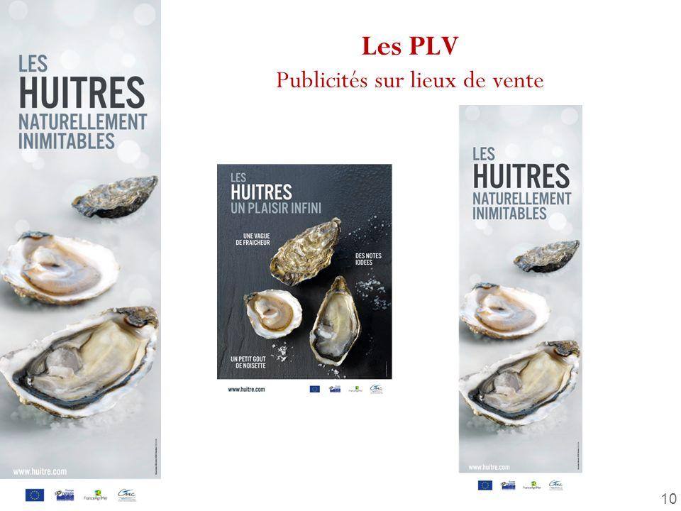 10 Les PLV Publicités sur lieux de vente