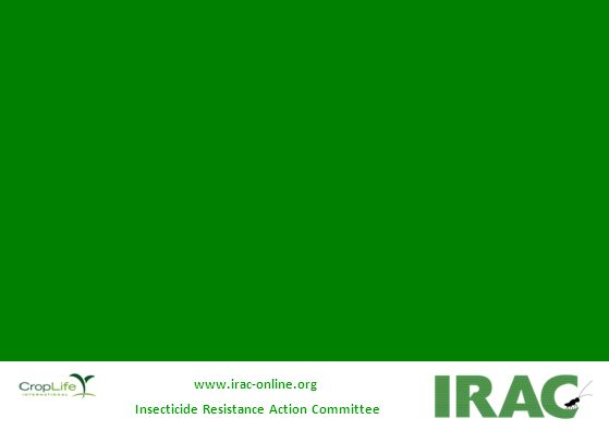 Insecticide Resistance Action Committee www.irac-online.org