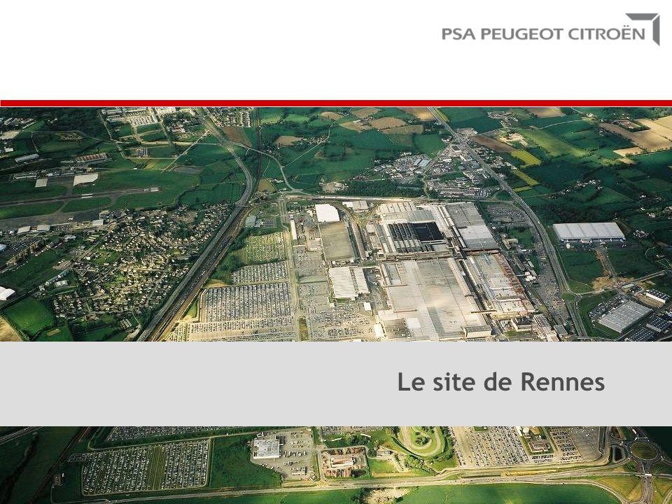 Le site de Rennes