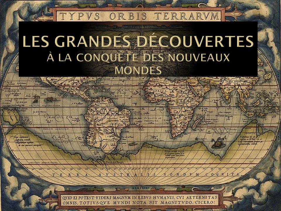 DATEEXPLORATEURPAYSEXPÉDITION 1487Barthélemy DiazPortugalPasse le cap de Bonne-Espérance 1492-1504Christophe ColombEspagneDécouvre lAmérique (centrale) 1497Jean CabotAngleterreLonge Terre-Neuve, la Nouvelle-Écosse et la Nouvelle-Angleterre 1498Vasco de GamaPortugalAtteint lInde 1499-1508Amerigo VespucciEspagne et Portugal Voyage de lArgentine à la Virginie, déclare que lAmérique est un continent 1500Pedro Alvares CabralPortugalPrend possession du Brésil 1513Basco de BalboaEspagneDécouvre le Pacifique (à pied) 1519-1521Ferdinand de MagellanEspagneFait le tour du monde 1524Giovanni da VerrazanoFranceLonge les côtes des Carolines à Terre-Neuve 1534-1541Jacques CartierFranceExplore le golfe et le fleuve St-Laurent 1577-1580Francis DrakeAngleterre2 e tour du monde 1610Henry HudsonAngleterreExplore le fleuve Hudson et la baie dHudson