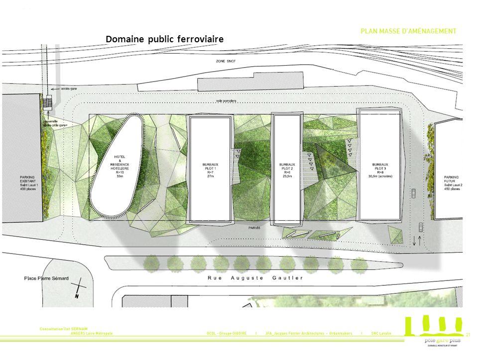 La Proposition Urbaine et Architecturale retenue OCDL – GIBOIRE promoteur Immobilier Jacques FERRIER architecte SNC LAVALIN B.E.T.