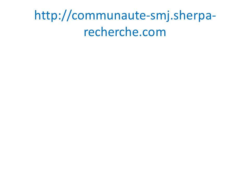 http://communaute-smj.sherpa- recherche.com