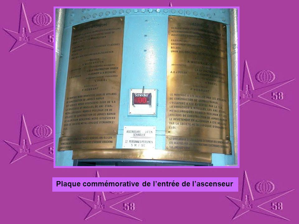 Cest a lingénieur André Waterkeyn, que nous devons la construction de latomium, pour lexpo 58.