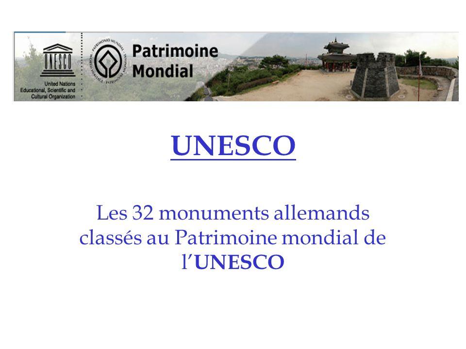 Mines de Rammelsberg et la ville historique de Goslar Les mines de Rammelsberg ont été inscrites sur la liste du patrimoine mondial de lUNESCO en 1992.