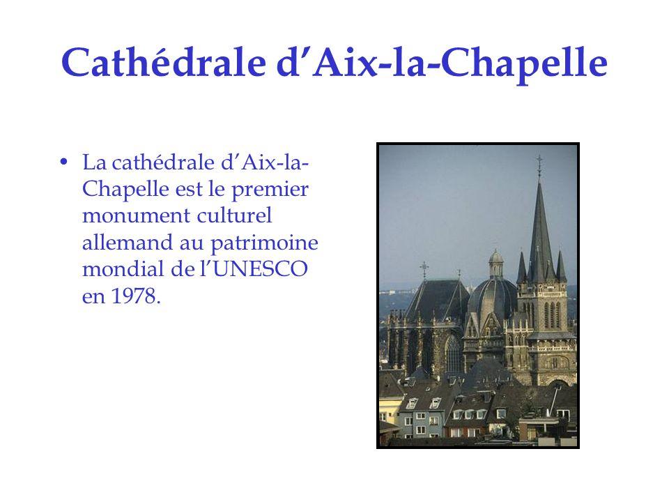Cathédrale de Spire La cathédrale de Spire a été inscrite sur la liste du patrimoine mondial de lUNESCO en 1981.
