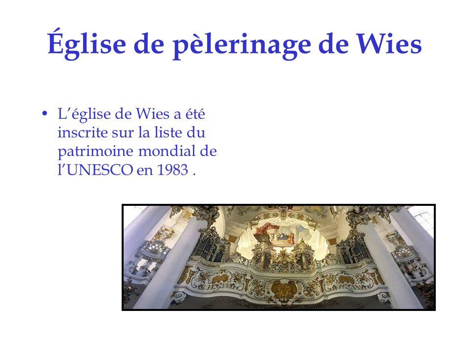 Châteaux dAugustusburg et de Falkenlust à Brühl Les châteaux dAugustusburg et de Falkenlust ont été inscrits sur la liste du patrimoine mondial de lUNESCO en 1984.