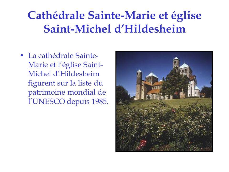 Cathédrale de Cologne Elle figure sur la liste du patrimoine mondial de lUNESCO depuis 1996.
