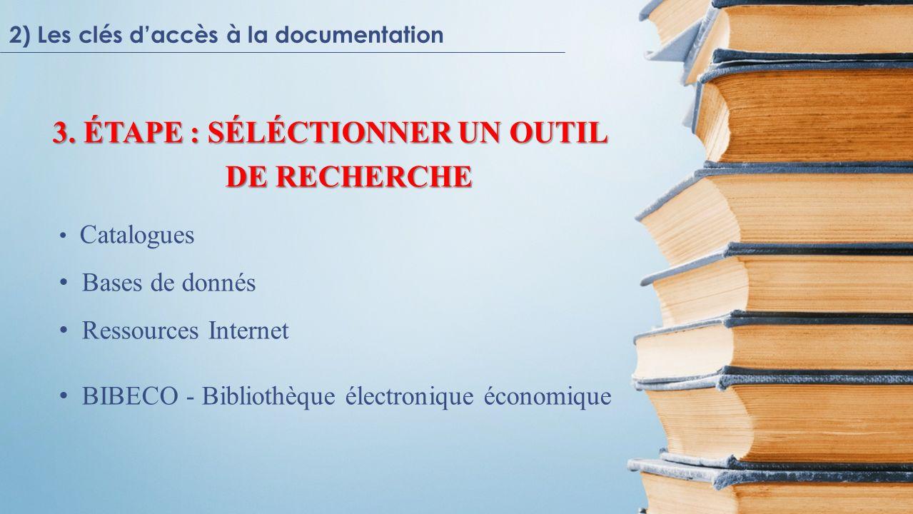 4) Citer les sources 1) Ouvrage de référence, manuel 2) Programme