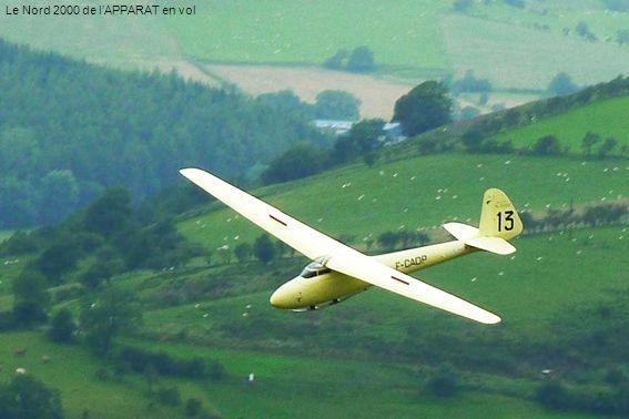 Le Nord 2000 de lAPPARAT en vol