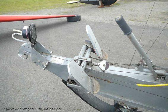 Le poste de pilotage du T38 Grasshopper