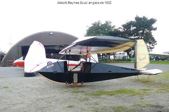Abbott-Baynes Scud, anglais de 1932