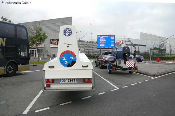 Eurotunnel à Calais