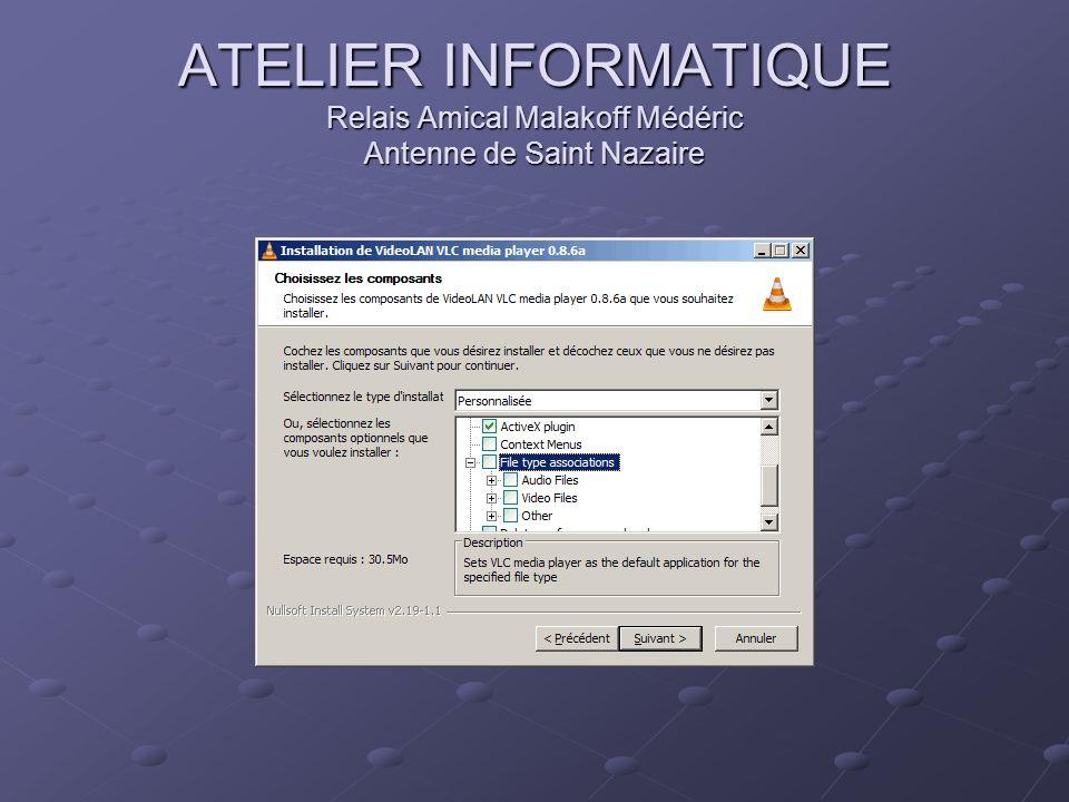 ATELIER INFORMATIQUE Relais Amical Malakoff Médéric Antenne de Saint Nazaire