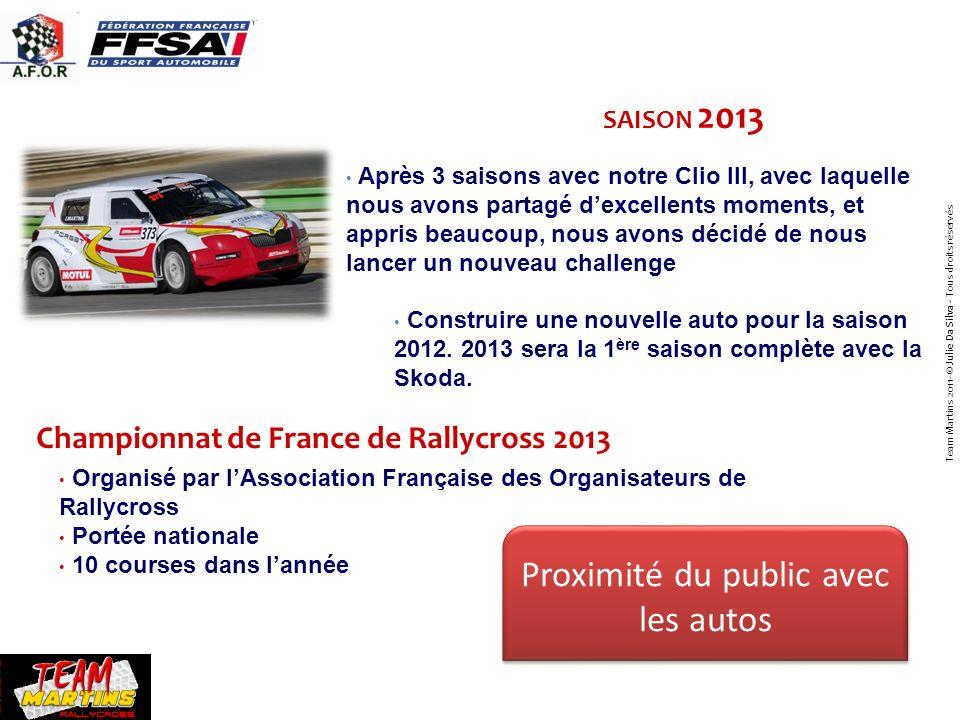 Championnat de France de Rallycross 2013 SAISON 2013 Photo Après 3 saisons avec notre Clio III, avec laquelle nous avons partagé dexcellents moments,