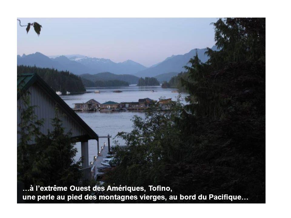 …à lextrême Ouest des Amériques, Tofino, une perle au pied des montagnes vierges, au bord du Pacifique…