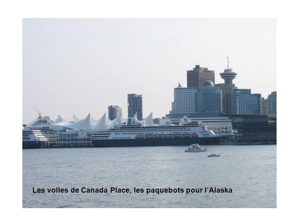 Les voiles de Canada Place, les paquebots pour lAlaska
