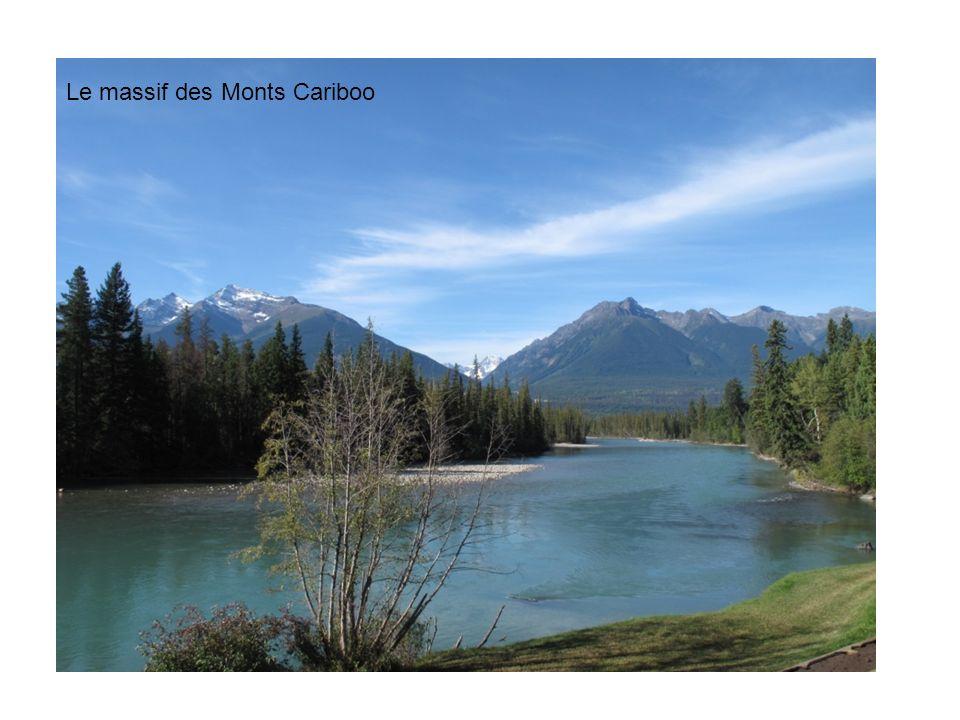 Le massif des Monts Cariboo