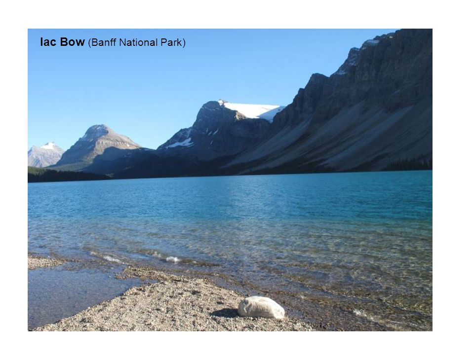 lac Bow (Banff National Park)