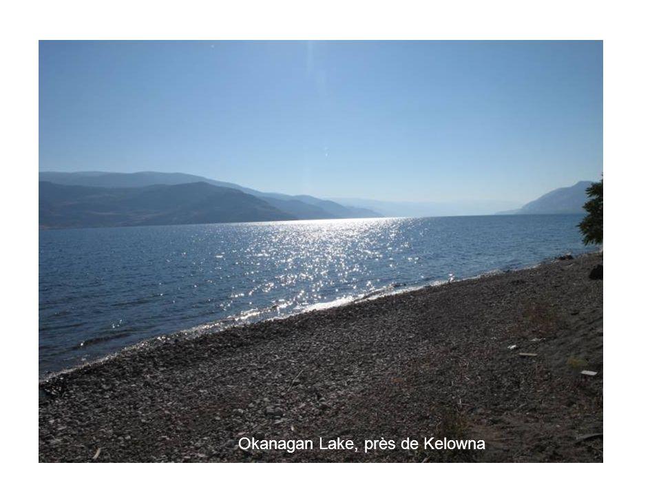 Okanagan Lake, près de Kelowna