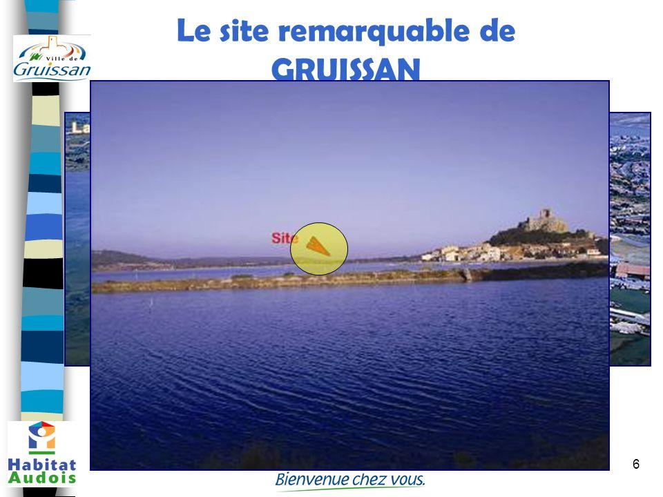 6 Le site remarquable de GRUISSAN