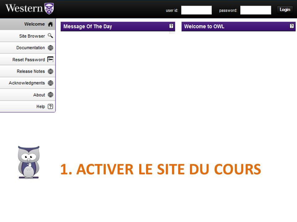 Le site nouvellement créé est retrouvable: a)dans la liste; b)depuis la vignette « More Sites »; c)depuis une vignette qui lui est propre (nécessite une configuration supplémentaire);