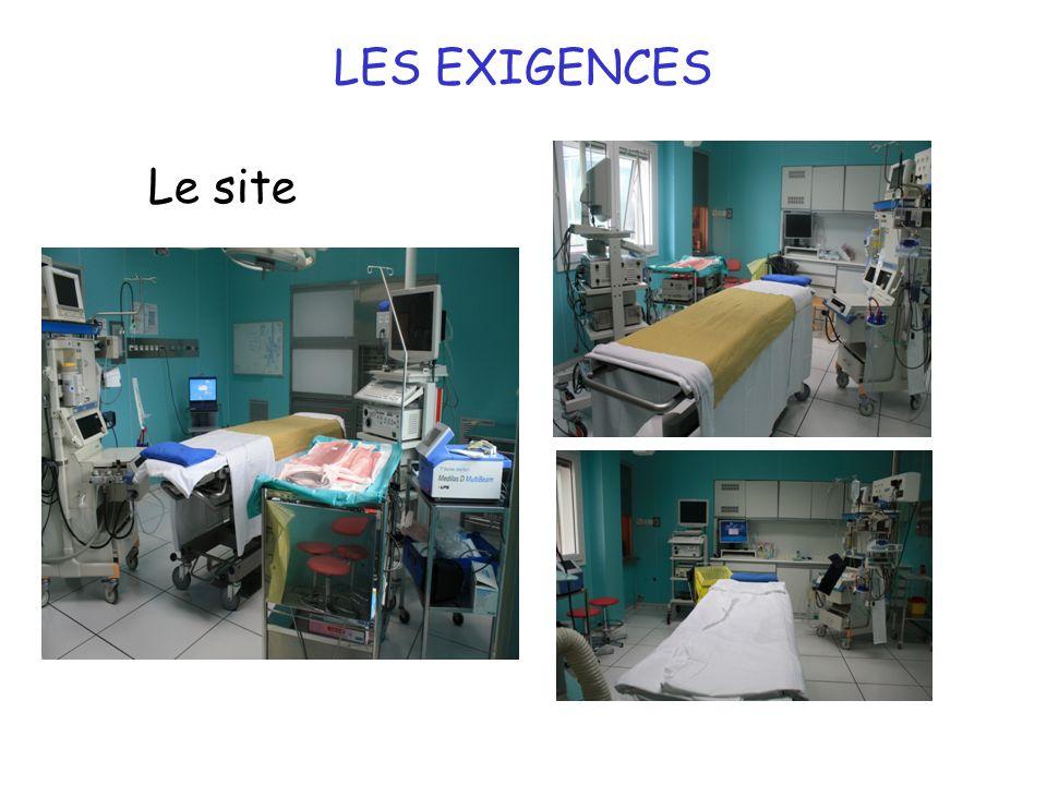 7 LES EXIGENCES Le site