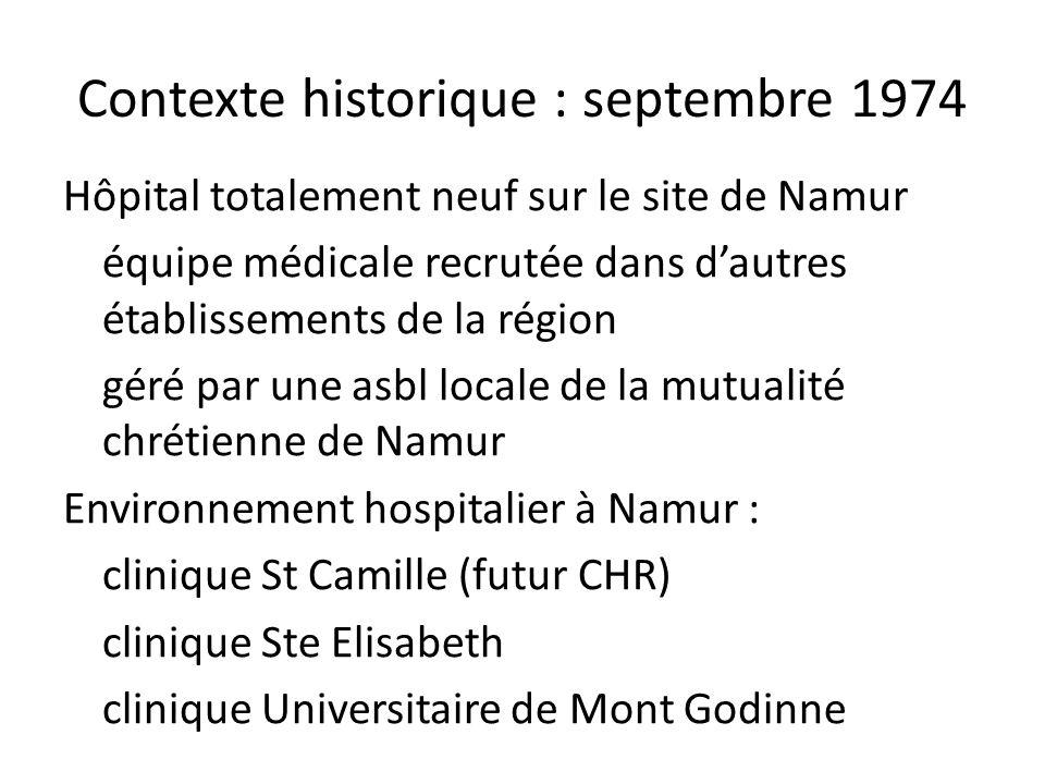 Statut proposé aux médecins en 1974 Activité temps plein (hospitaliers et médico-techniques) avec un statut dindépendant.