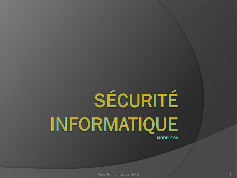 Sécurité Informatique - PAG22 Infrastructure à clés publiques ou PKI