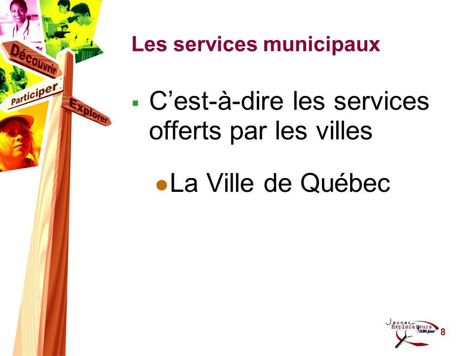 9 Les sociétés dÉtat Exemples Hydro-Québec Société Radio-Canada Poste Canada Société des alcools du Québec (SAQ) Société dassurances automobile du Québec (SAAQ) Etc.