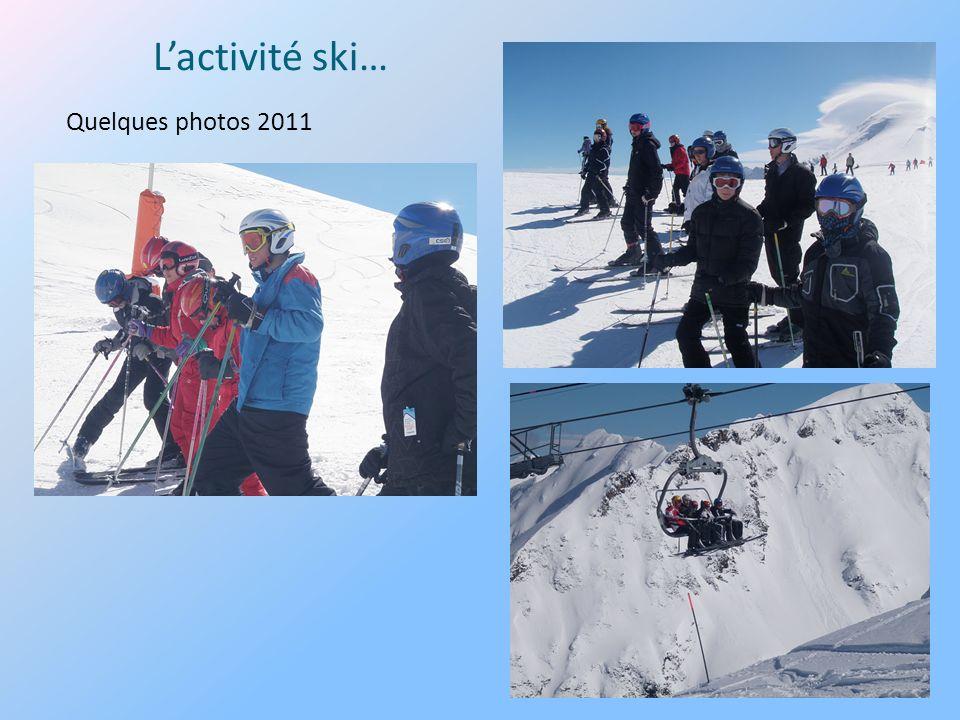 Lactivité ski… Quelques photos 2011