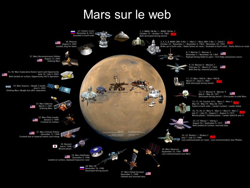 JPL / Explore Mars Voir les deux prochaines diapos Pour capture d écrans du simulateur de Spirit et Curiosity