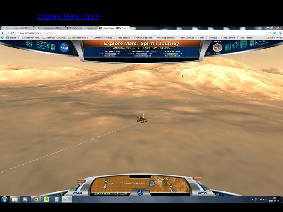 Explore Mars: Spirit