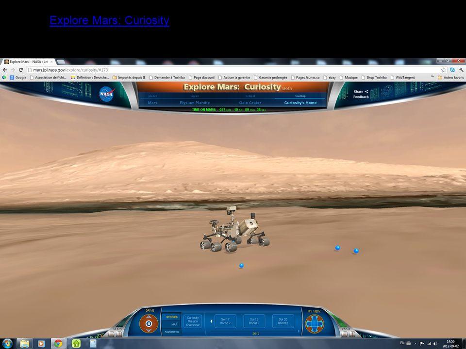 Explore Mars: Curiosity