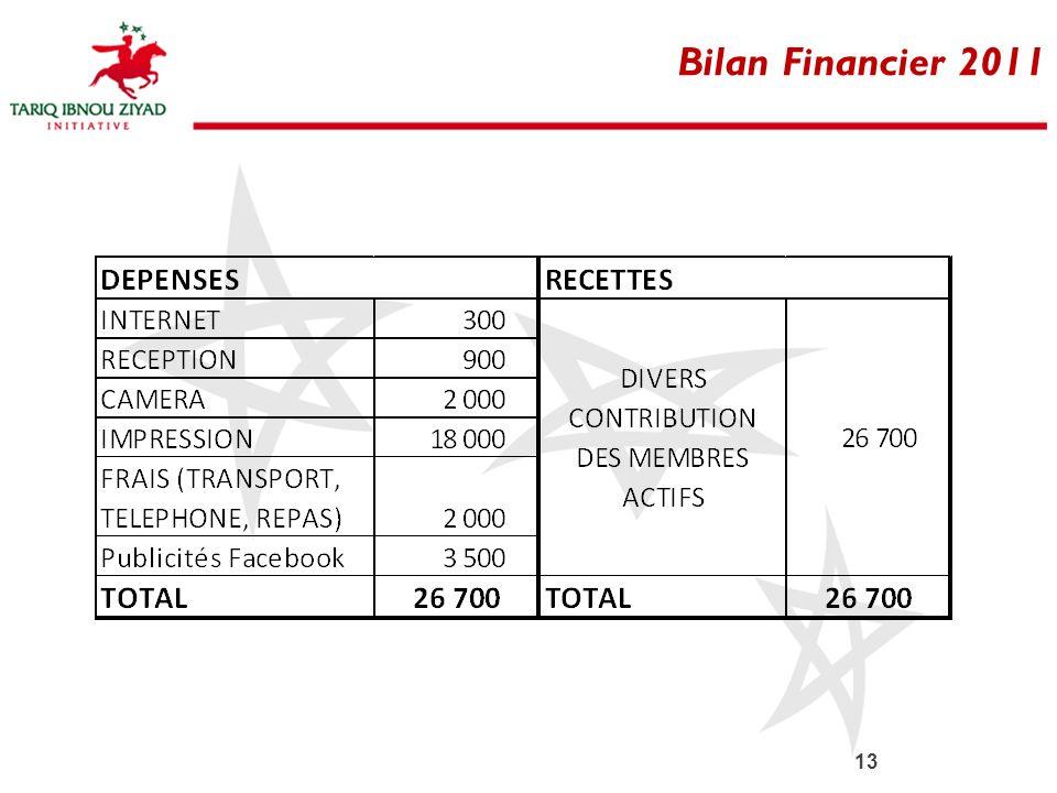 13 Bilan Financier 2011