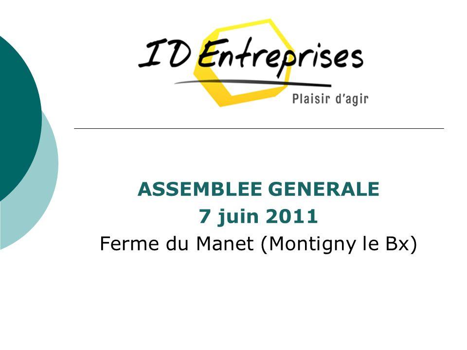 ASSEMBLEE GENERALE 7 juin 2011 Ferme du Manet (Montigny le Bx)