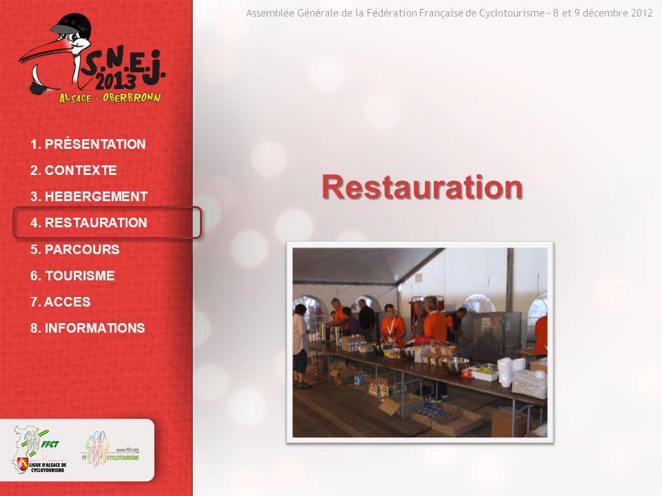 Assemblée Générale de la Fédération Française de Cyclotourisme – 8 et 9 décembre 2012 1.