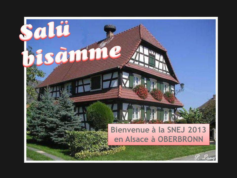 Bienvenue à la SNEJ 2013 en Alsace à OBERBRONN Bienvenue à la SNEJ 2013 en Alsace à OBERBRONN